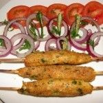 Who says seekh kebabs can't be vegetarian? Vegetarians can enjoy a delicious version of veg-seekh kebabs. Grill on coal fire gives it the authentic seekh kebab touch. Ingredients: 250 gms french beans, chopped 250 gms carrots, chopped 150 gms paneer,...