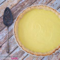 Gluten-Free Vegan Lemon Tart {Refined Sugar-Free}
