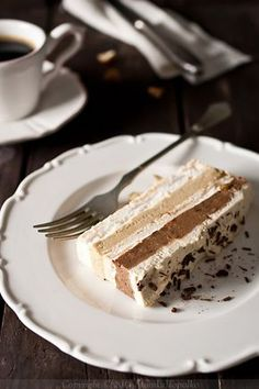 Sweet Sensation: Torta od kave i čokolade / Chocolate Mocha Layer Cake Eat Dessert First, Dessert Bars, Cupcakes, Cupcake Cakes, Cheesecake Recipes, Dessert Recipes, Chocolates, Rodjendanske Torte, Torta Recipe