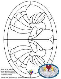 Stained Glass Patterns for FREE 025 Angel. Stained Glass Angel, Stained Glass Paint, Stained Glass Christmas, Stained Glass Designs, Stained Glass Projects, Stained Glass Patterns, Mosaic Patterns, Stained Glass Windows, Mosaic Glass