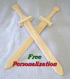 Wooden Toy Sword