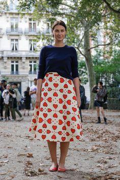 skirt, casual feminine style http://www.teampeterstigter.com/uploads/2013/10/SW_08_WCFS14_PARIS_1809.jpg
