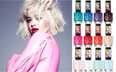 Rita Ora for Rimmel London 60 Seconds, Rimmel London, Great Nails, Rita Ora, Oras, Manicure And Pedicure, How To Do Nails, You Nailed It, Different Color Nails