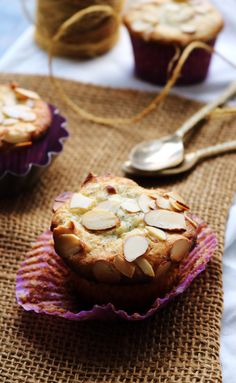 Bakery-Style Almond Poppy Seed Muffins