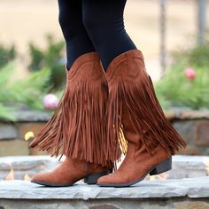 $29.99 FRINGE BOOTS - the PERFECT boot for Country Concerts!
