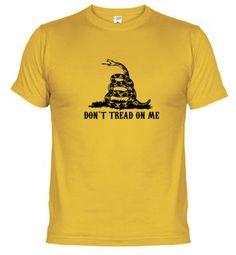 Camiseta dont tread on me