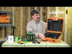 Johnson Level 40-6543 Self-Leveling Rotary Laser with GreenBrite® Technology - YouTube