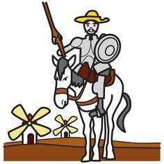 SUSANA Maestra de A.L.: Don Quijote adaptado con pictogramas. Capítulo I, II