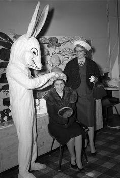Creepy Easter bunny