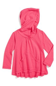 Tea Collection 'Potsdam' Lightweight Hoodie (Toddler Girls) available at #Nordstrom