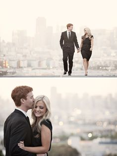 San Francisco Engagement Shoot - PHOTO SOURCE • JAY TSAI PHOTOGRAPHY
