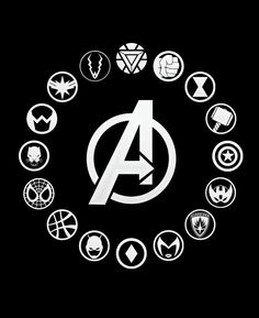 MARVEL - Avengers Infinity War - Heroes Icons.