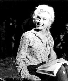 "Marilyn Monroe in ""River Of No Return"" 1954"
