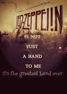 Zeppelin fan forever! ❤️