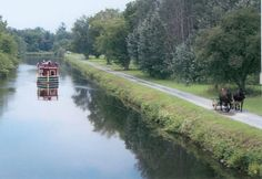 Erie Canal, Upstate New York. This bicycle route goes from Buffalo to Albany across top end of the Finger Lakes.