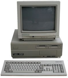 The Commodore Amiga 1500, also known as the A1500, was a 16/32-bit home/personal computer released in 1990. It originally sold for £999. It was a variation of the Amiga 2000, and was released only in the United Kingdom. It differed from the A2000 by having two internal floppy drives instead of one, the second being in place of the hard disk drive. The A1500 had no hard disk drive as standard.