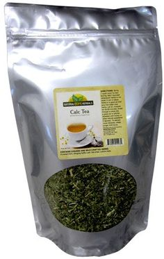 CALC TEA Natural Herbal Blend for Healthy Teeth Bones and Hair Traditional USA