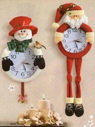 Reloj navideños