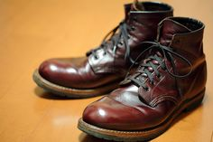Redwing Beckman. I never was interested in clothes or shoes, but I love me some Redwings!