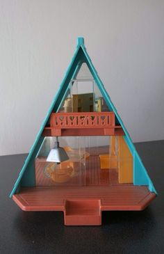 Fisher Price A-Frame, the boys begged for this at the antique store today, kinda wish I bought it! eBay maybe? Etsy?
