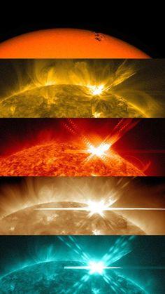 NASA's Solar Dynamics Observatory caught sight of a solar flare.