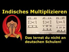 Indisches Multiplizieren – Das lernst du nicht an deutschen Schulen! Funny Picture Quotes, Math For Kids, School Hacks, Good To Know, Einstein, Back To School, Youtube, Knowledge, Language
