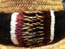 Hakupapa - Feather Hat Band.