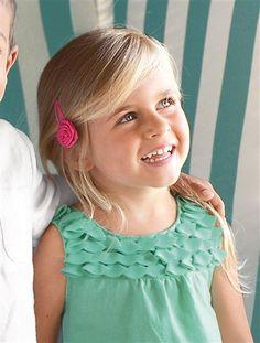 4 pasadores de metal para niña - Para dar un toque de color a sus #accesorios para la #ceremonia