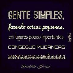 Pq simplicidade é tudo!