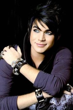 Adam Lambert--a fine specimen of the male species, so unfortunate for woman kind that he's gay....