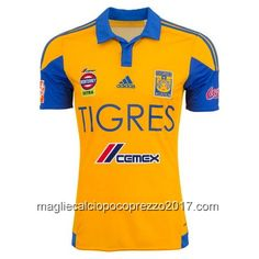 Maglia home Thailandia Tigres UANL 2016