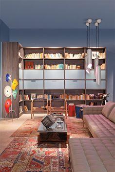 Casa Cor 2011: Viagem literária, projeto de Sonia Lacombe e Angela Borsoi, Designers de Interiores, de Brasília.