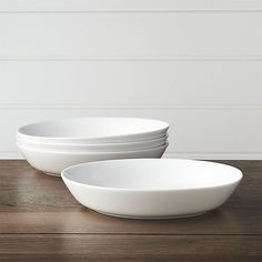 Set of 4 Hue White Low Bowls- I already have a set of 4 of these and would like some more