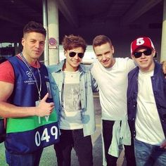 Louis, Liam, and Niall today
