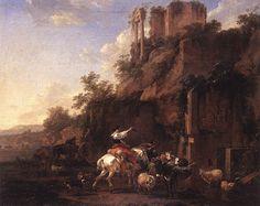 Nicolaes Berchem (1620 – 1683) – Pintor Holandês_8