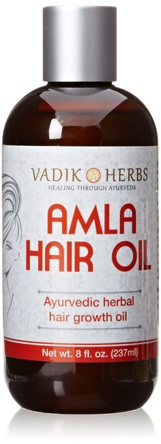 Amla Hair Oil, 16 oz (no mineral oil)-herbal hair growth oil ~ New larger size ! >>> Click image for more details. (This is an affiliate link and I receive a commission for the sales)