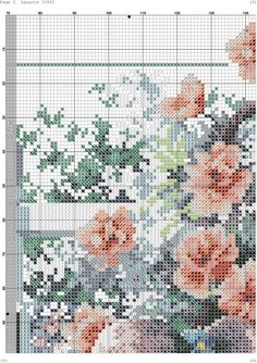 VK is the largest European social network with more than 100 million active users. Cross Stitch Flowers, Cross Stitch Patterns, Cross Stitch Pictures, L Love You, Orange Roses, Stitch 2, Farm Animals, Cross Stitching, Needlework