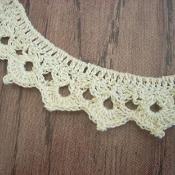 Simple Crochet Necklace Pattern - via @Craftsy
