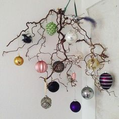Mit juletræ i år! ☃️#julekugler #troldegren #julepynt #klartiljul #december #julen2016 #christmas2016