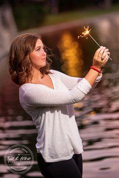 Lauren Johnson - Shops at Legacy - Plano, Texas - Fall - Senior Portraits - Sparkler - Class of 2016 - Kingston High School - Oklahoma - Texas - Frisco - Senior Pictures - #seniorportraits - Ideas for Girls - @neeneestiles - #seniorpics - Tyler R. Brown Photography