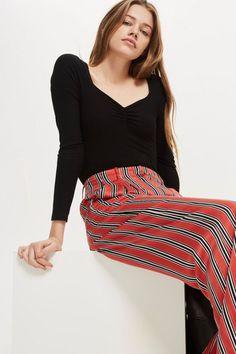 2a4cc710b8 PETITE Sweetheart Bodysuit - Bodysuits - Clothing - Topshop USA Glossier  Look