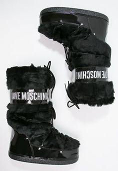 Love Moschino Botas para la nieve - nero - Zalando.es
