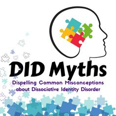 DID Myths and Misconceptions — Beauty After Bruises Disassociative Identity Disorder, Depersonalization, School Organization Notes, Dissociation, I Work Hard, Health Challenge, Personality Disorder, Social Work, Mental Illness
