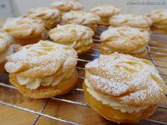 Lemon Viennese Whirls - She Who Bakes Lime Recipes, Tart Recipes, Sweet Recipes, Baking Recipes, Cookie Recipes, Drink Recipes, Viennese Whirls, No Bake Chocolate Cheesecake, Banoffee Pie