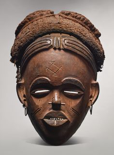 Chokwe Mask, Angola Height: 13 in (33 cm) READ CONDITION REPORT PROVENANCE Collected in situ by Hans Himmelheber, circa 1934