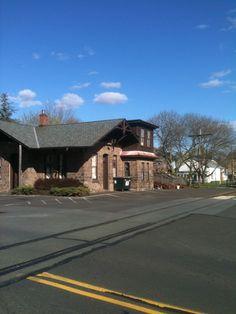 Former PRR Milford, NJ Station on the old Bel Del.
