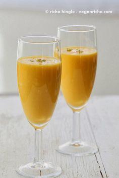 Mango Lassi and So Delicious Coupon Giveaway! Vegan Glutenfree Recipe | Vegan Richa