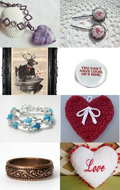 To My Valentine ~ A Potti Team Treasury by Rose Anne on Etsy--Pinned with TreasuryPin.com