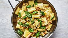 Summer Squash and Basil Pasta Recipe | Bon Appetit