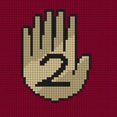Gravity Falls Book 2 Perler Bead Pattern by Melissa Pious